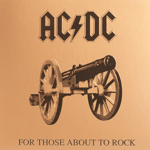 Альбом For Those About To Rock (We Salute You)