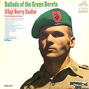 Альбом Ballads Of The Green Berets