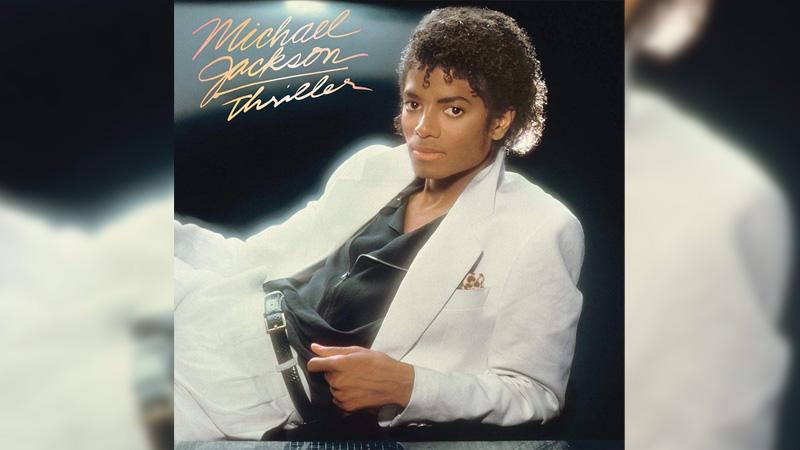 Обложка альбома Thriller