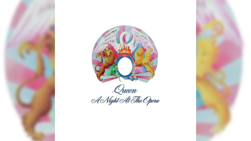 Обложка альбома A Night at the Opera