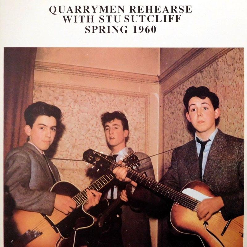 Обложка пластинки The Quarrymen