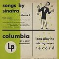 Обложка альбома Songs by Sinatra