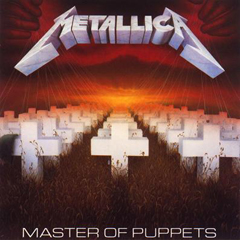 Обложка альбома Master of Puppets