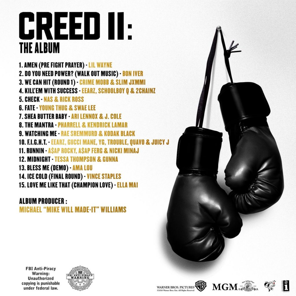 OST – Creed 2