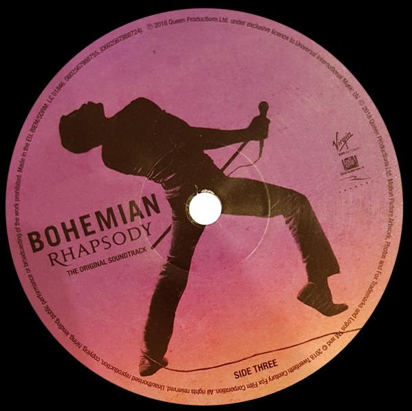 Яблоко пластинки Bohemian Rhapsody