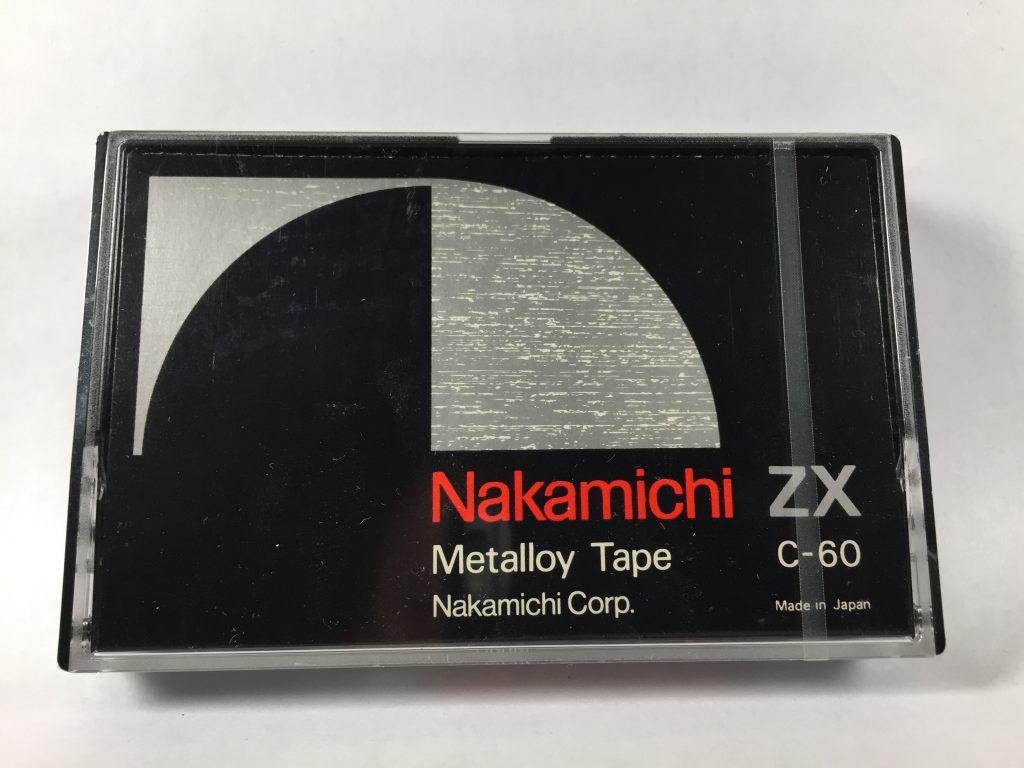 Кассета Nakamichi ZX C-60