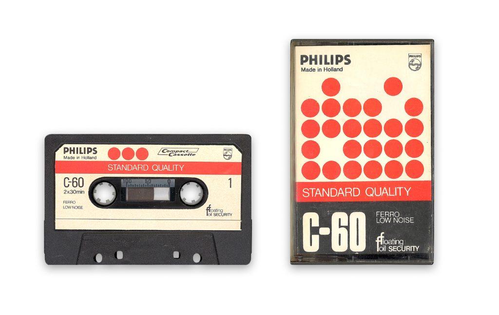 Кассета Philips C-60 1963 года