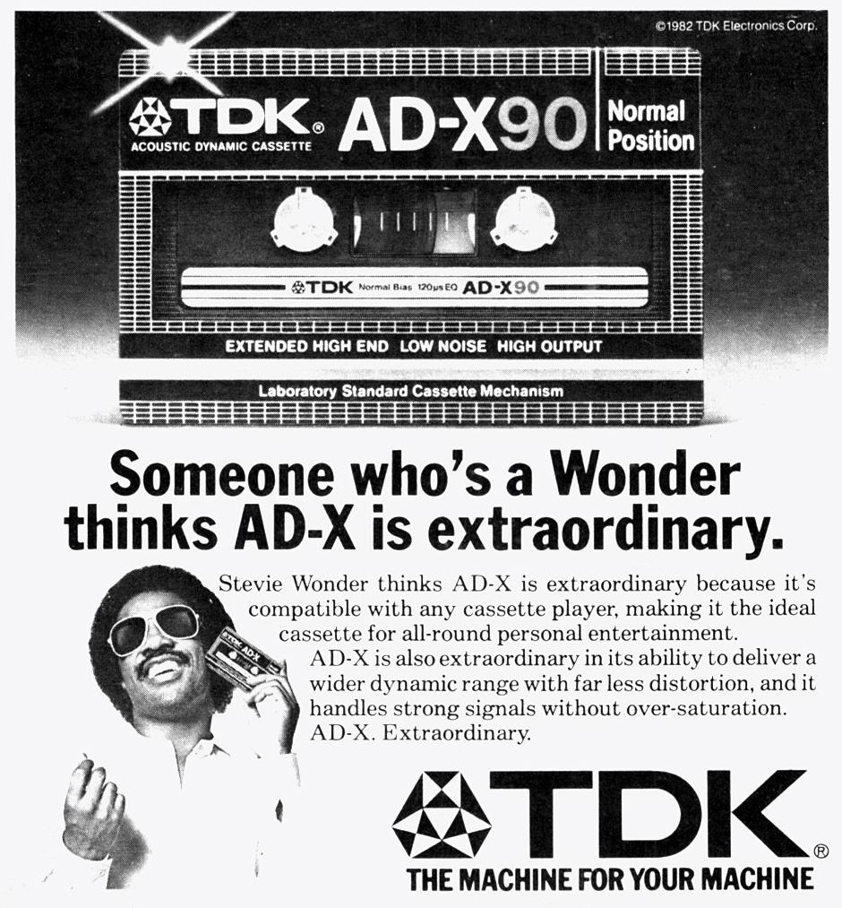 Реклама TDK AD-X