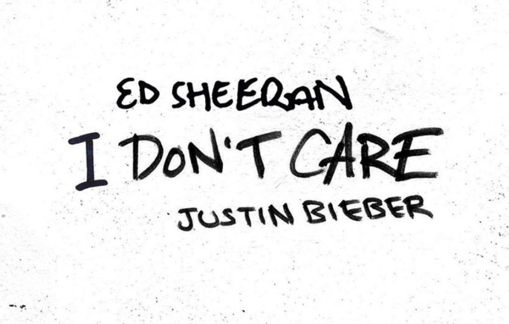 i don't care ed sheeran
