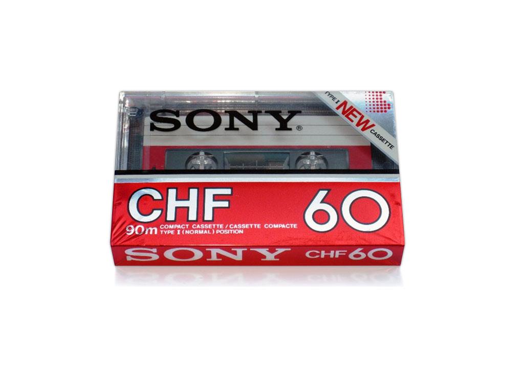 Кассета Sony CHF 60