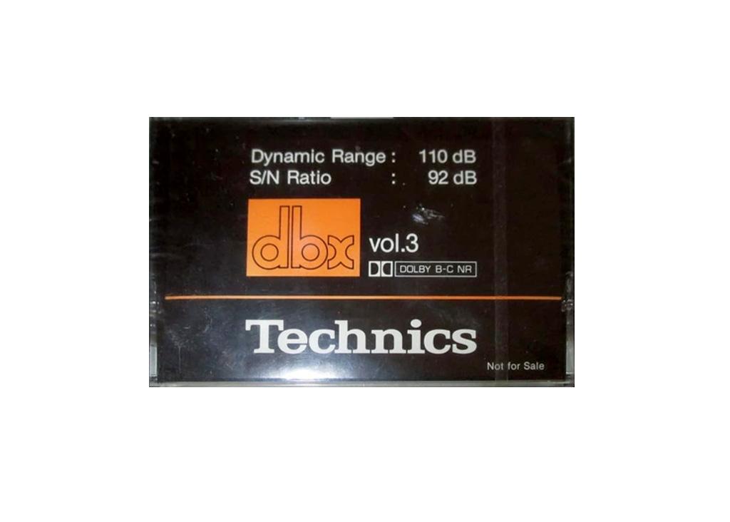 Technics dbx vol.3