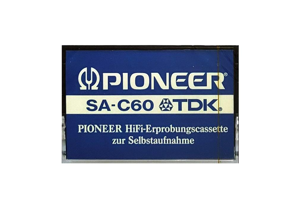 Pioneer TDK SA-C60
