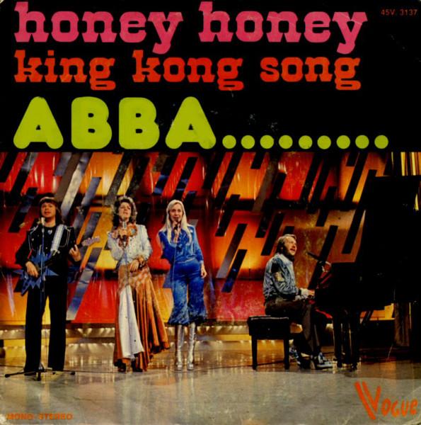 Сингл Honey Honey (Бельгия, 1974)