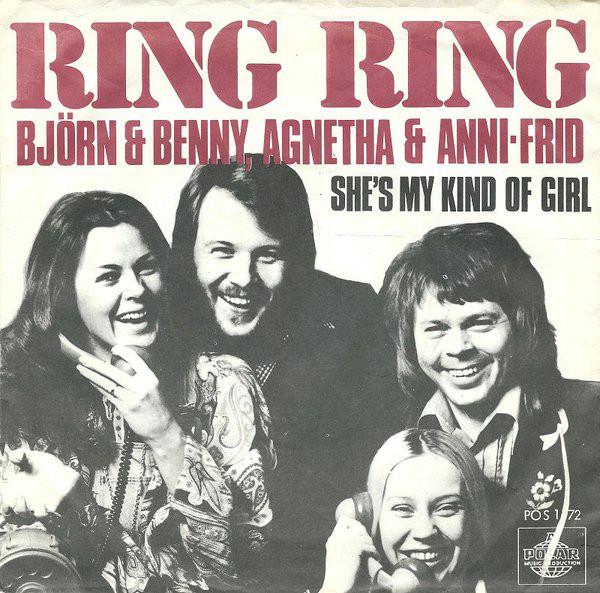Сингл Ring Ring (Дания, 1973)
