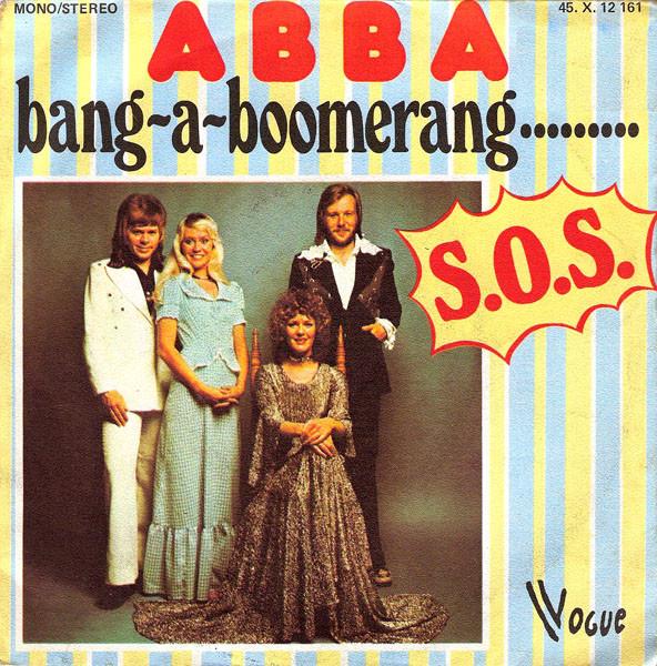 Сингл Bang-A-Boomerang (Франция, 1975)