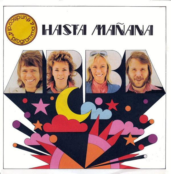 Сингл Hasta Mañana (Италия, 1974)