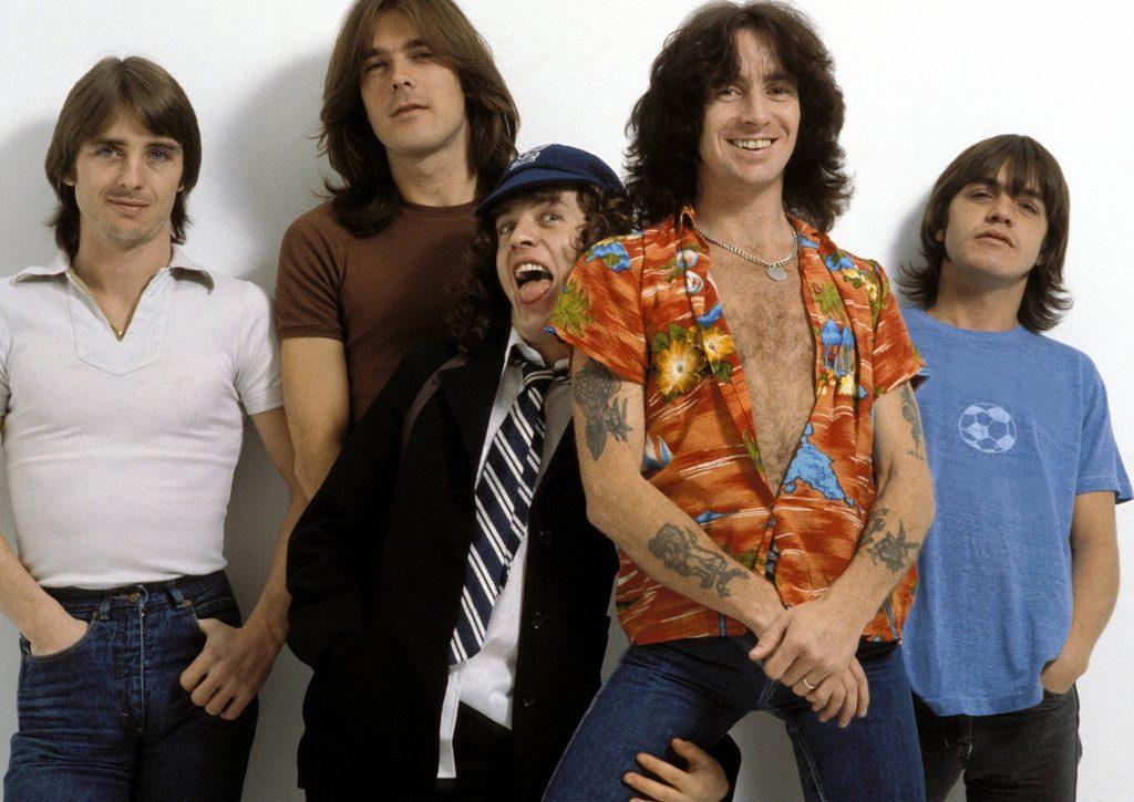 Первый состав AC/DC